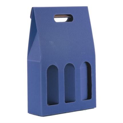 Confezion 3 butiliis cun mantie blu
