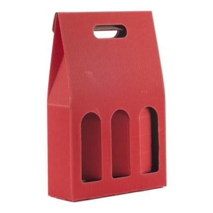 Confezion 3 butiliis cun mantie ros