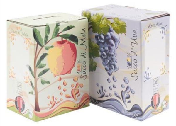 Bag in Box struc di miluç e uve