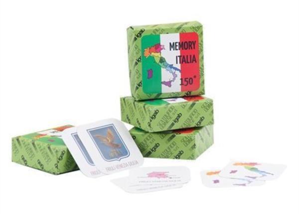 Gadget promozionale Memory Italia Scatolificio Udinese