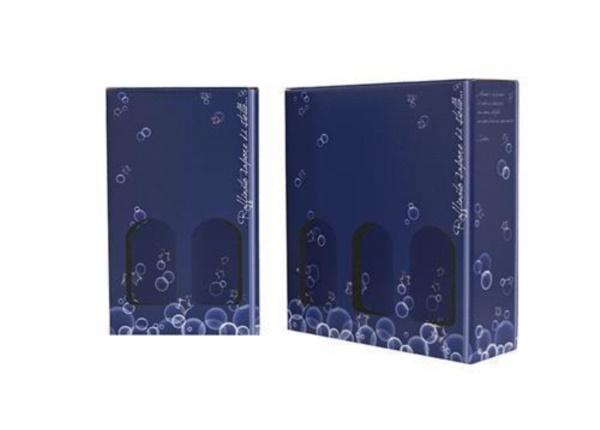 Scatole 2-3 bottiglie Sapore di stelle con finestre